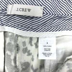 J. Crew Shorts - J. Crew black and white pattern shorts size 4